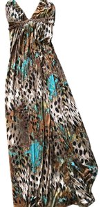 animal print Maxi Dress by Sky