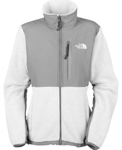 The North Face White & Grey Jacket