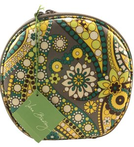 Vera Bradley Hatbox Cosmetic Bag in Lemon Parfait 11999-108 Retired