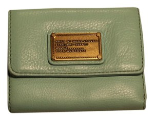Marc by Marc Jacobs Mint Marc by Marc Jacobs Leather Trifold Wallet