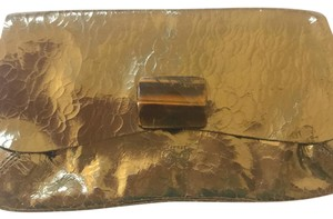 Anya Hindmarch dark gold Clutch