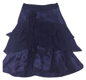 The Limited Tier Silk Limited Skirt Black