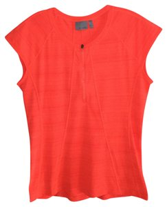 Athleta T Shirt Bright Coral