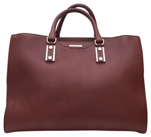 Hugo Boss Satchel in sienna brown