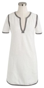 J.Crew short dress White Tunic Summer Little on Tradesy