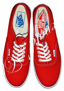 Vans Mars Red/True White Athletic