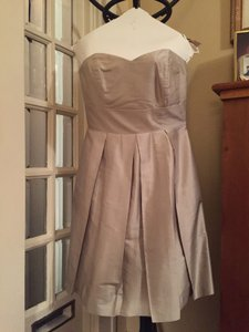 LulaKate Dove Grey Pearl Top With Dahlia Skirt Dress