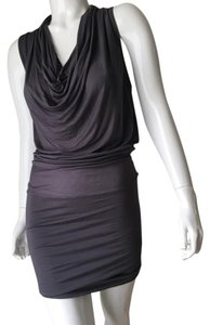 Zoa short dress Gray on Tradesy