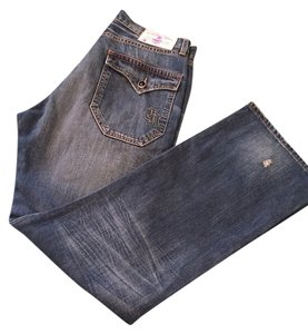 Christian Audigier Relaxed Fit Jeans-Medium Wash