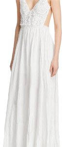 Ivory Maxi Dress by ANGL