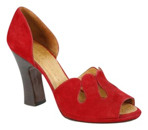 Chie Mihara Red Pumps