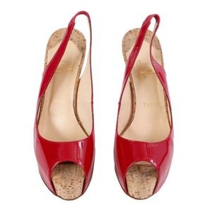 Christian Louboutin Red Bottoms Pumps High Heels Red Platforms