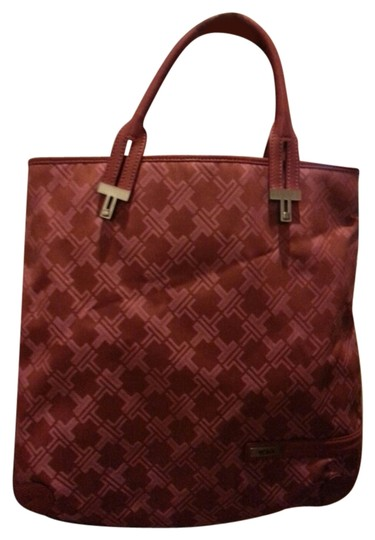 Tumi Tote in Red/Pink