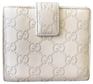 Gucci Bow Guccissima Bifold Wallet