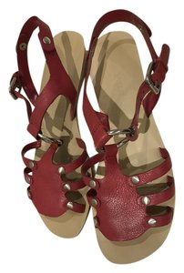 Nine West Red Sandals