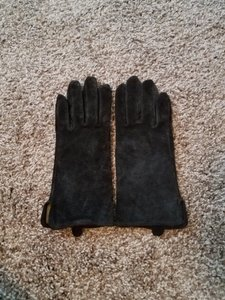 Chico's Suede Leather Gloves