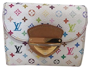 Louis Vuitton Louis Vuitton Koala White Multicolor Monogram Compact Wallet