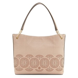 Tory Burch Tote in Light oak/gingersnap