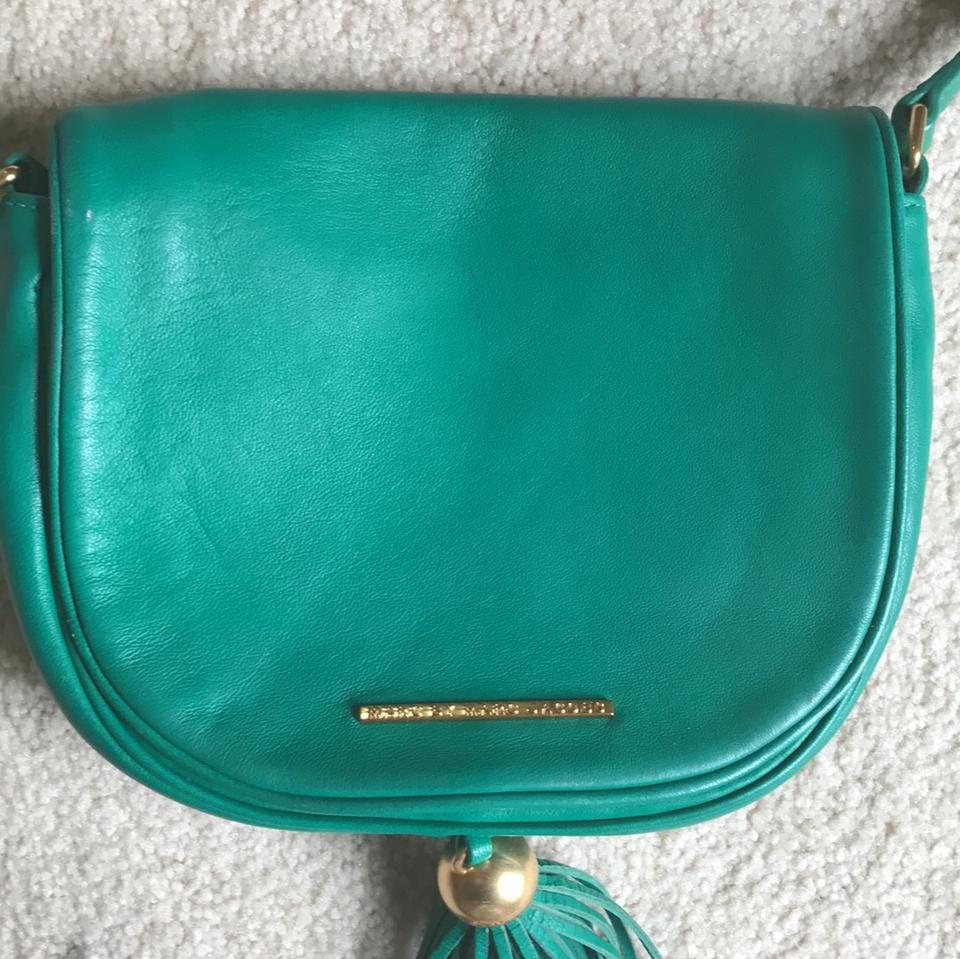 28370f3dff Marc by Marc Jacobs Gig Hincy Soccer Pitch Green Lambskin Leather ...