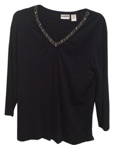 Chico's Top Navy Blue