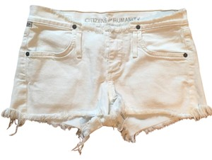 Citizens of Humanity Mini/Short Shorts white