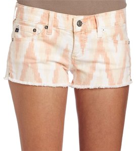 AG Adriano Goldschmied Cut Off Shorts pink