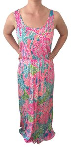 Multi Maxi Dress by Lilly Pulitzer Maxi Coral