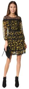 Diane von Furstenberg Lace Trim Dress