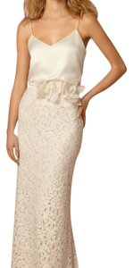BHLDN Beach Wedding Lace Silk Maxi Dress