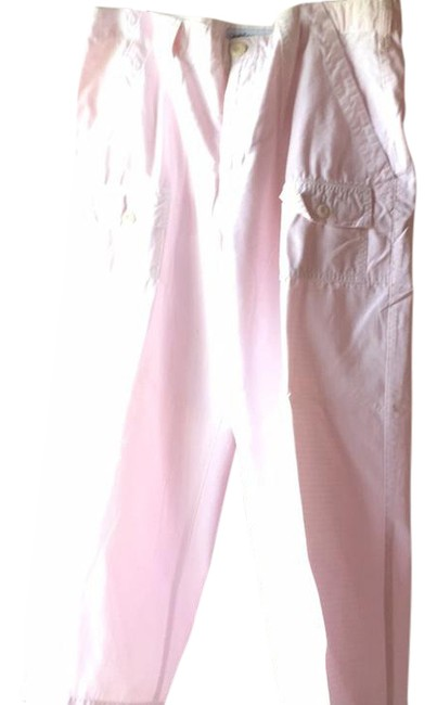 Item - Pink In A Summery Fabric Pants Size 12 (L, 32, 33)