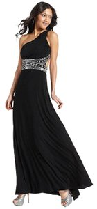 Betsy & Adam Embellished Sequin One Prom Formal Dress