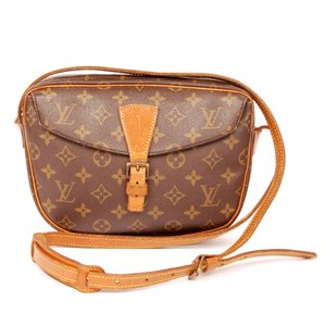 Louis Vuitton Monogram Canvas Jeune Fille Classic Leather Cross Body Bag