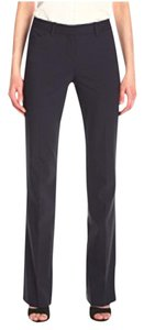 Theory Slate Wool Relaxed Max Cool Trouser Pants navy