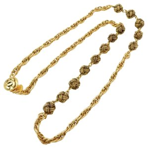 Chanel Vintage Chain Knot Necklace