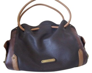 Cole Haan Leather Colorblock Bucket Shoulder Bag