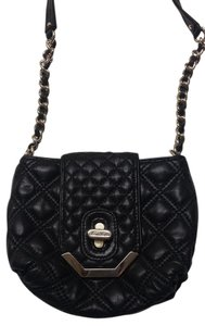 Brooks Brothers Leather Quilted Chain Cross Body Bag