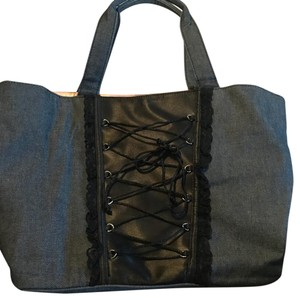 Victoria's Secret Tote in Navy Blue