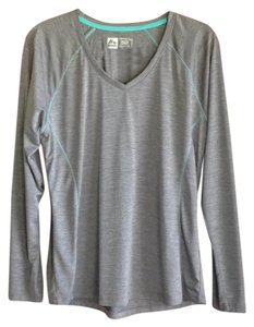 RXB RBX Sport Long Sleeve V-Neck in Grey