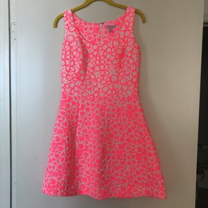 Lilly Pulitzer short dress Pink Jacquard Pattern Lilly on Tradesy