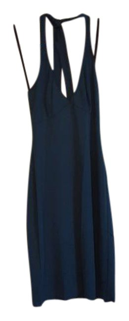 Item - Teal Green New York Halter Mid-length Night Out Dress Size 2 (XS)