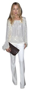 Rachel Zoe Boot Cut Pants Off-White