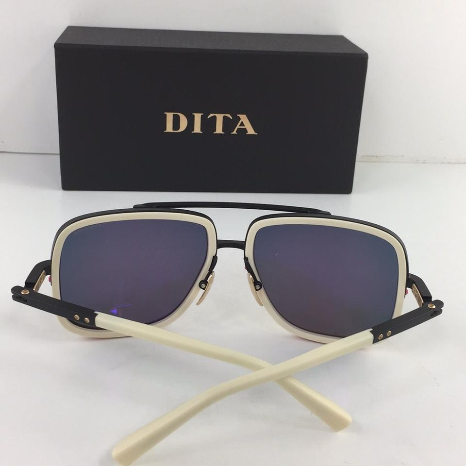 a7c030e748 Dita Gold Black White Mach One Titanium Limited Edition Drx 2030-k-bne-blk-- 59 Shiny Lens Plastic 127mm Sunglasses - Tradesy