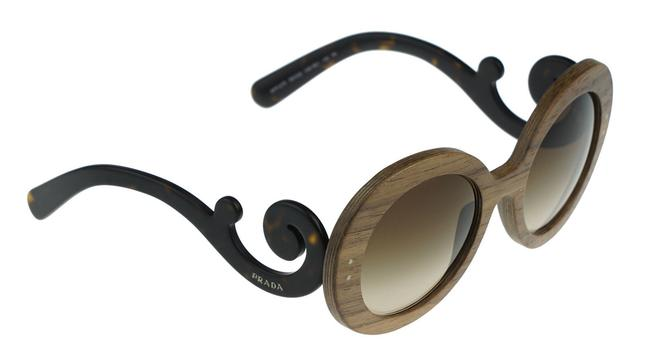 Item - New Baroque Wood Nut 55 Mm Canaletto Brown Sunglasses