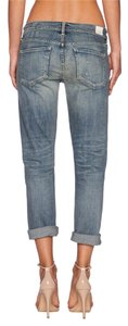 Citizens of Humanity Destroyed Holes Crop Stretchy Straight Leg Jeans-Distressed