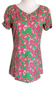 Lilly Pulitzer T Shirt pink and green