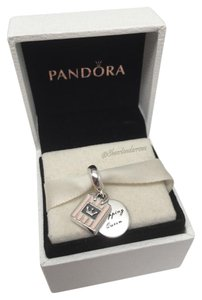 PANDORA Pandora pink Shopping queen charm in original gift pouch