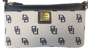 Dooney & Bourke Wristlet in Black/White