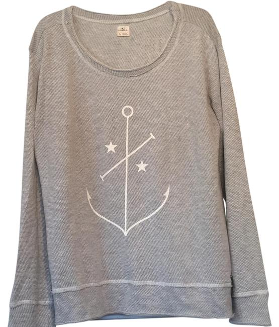 Preload https://img-static.tradesy.com/item/21187943/o-neill-heather-grey-anchor-sweaterpullover-size-14-l-0-1-650-650.jpg