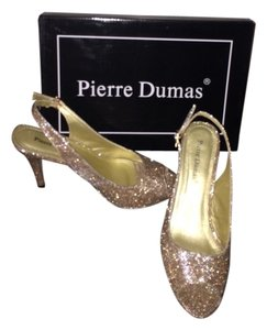 Pierre Dumas Gold Sparkle Formal