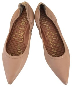 Sam Edelman Pointed Toe Padded Blush Flats